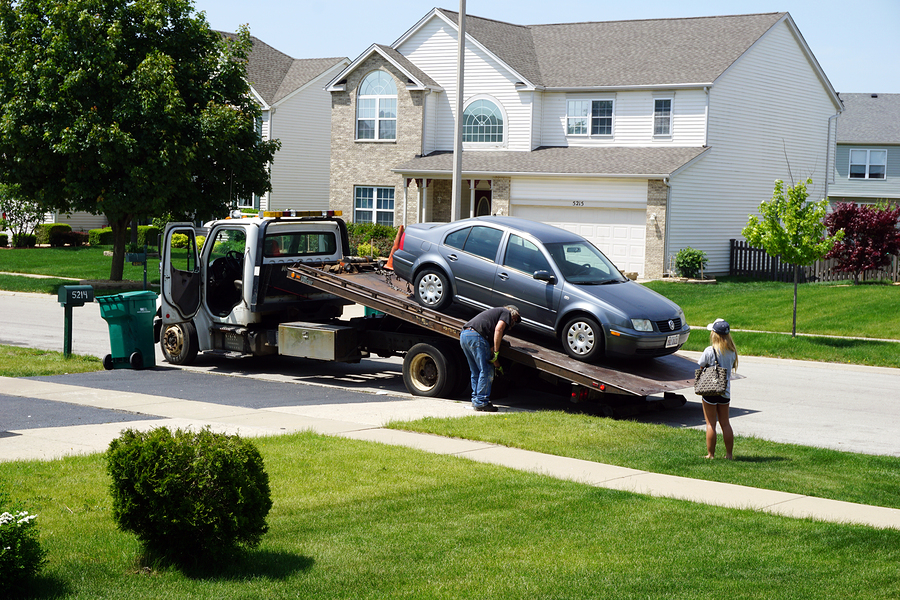 private property towing services